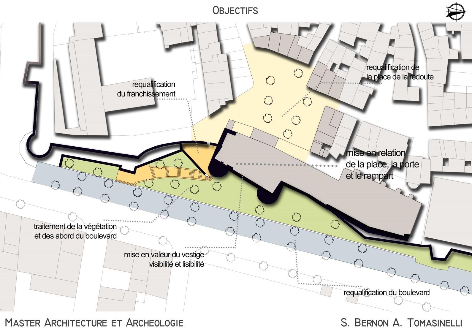 Aménagement de site archéologique – La porte d'Auguste d'Arles